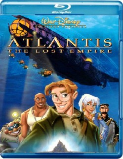 "Blu-ray artwork ""Atlantis: The Lost Empire"" 2001 animatedfilmreviews.blogspot.com"