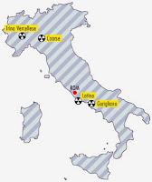 Atomkraftwerke Italien bis 1990