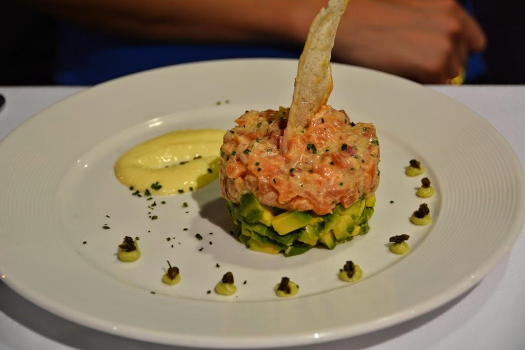 Hotel Costa del Sol, Lima Airport restaurant salmon