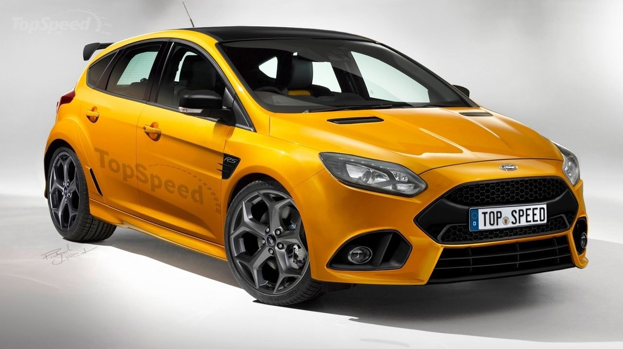 Ford S Mustang Gt350r And Focus Rs Hit The Render Highway