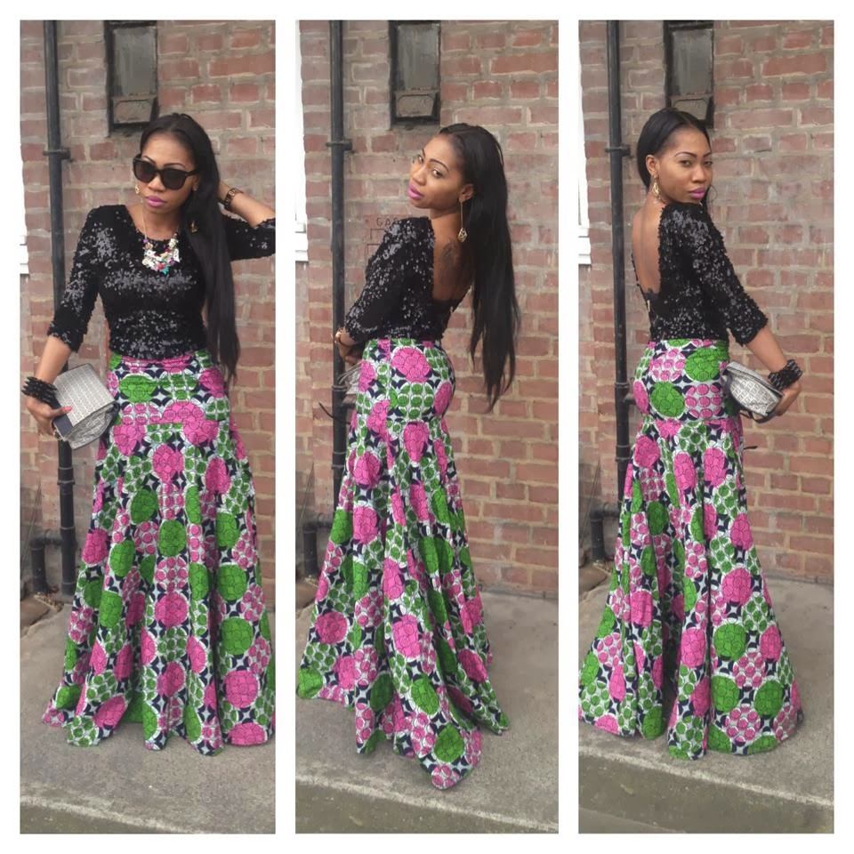 Ankara Long Skirt And Top Dezango Fashion Zone