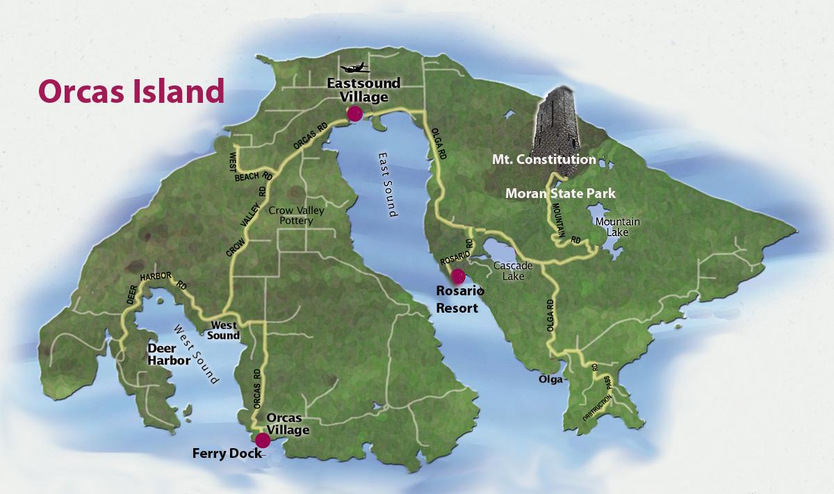 Dave And Val S Travel Blog Washington Oregon Day 9 Orcas Island