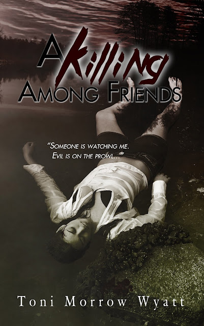 http://www.amazon.com/Killing-Among-Friends-Morrow-Wyatt-ebook/dp/B0134VMTG4/ref=sr_1_1?s=books&ie=UTF8&qid=1439316124&sr=1-1&keywords=a+killing+among+friends+toni+morrow