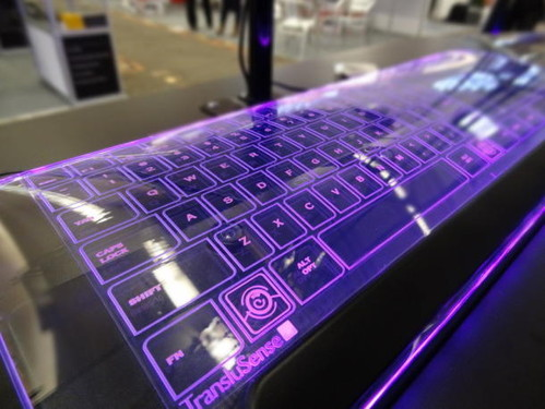 Luminae Glass Keyboard From TransluSense