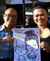 Kelly is a live/event caricaturist only...sorry...no studio caricatures.....