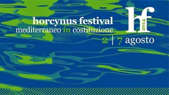 """""""MEDITERRANEO IN COSTITUZIONE"""": XII EDIZIONE DELL'HORCYNUS FESTIVAL"""