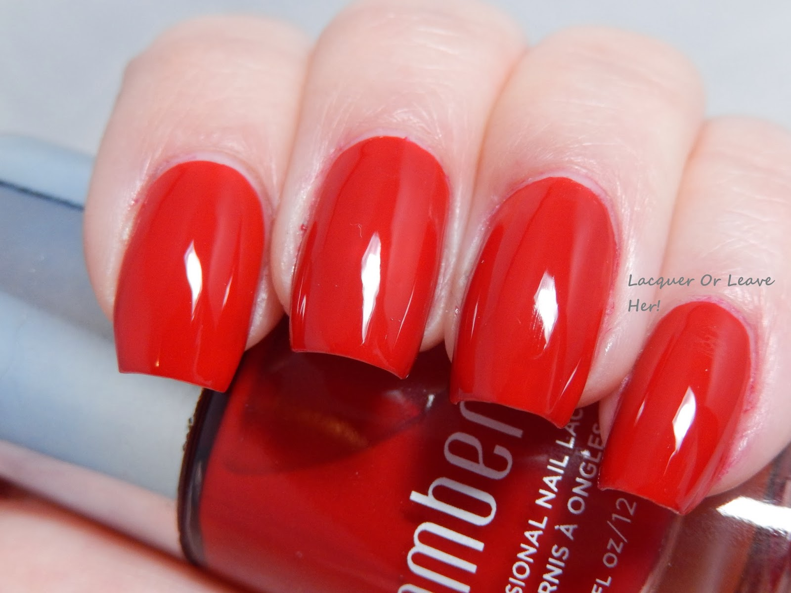 Lacquer or Leave Her!: Review + Before & After: Jamberry Cardinal