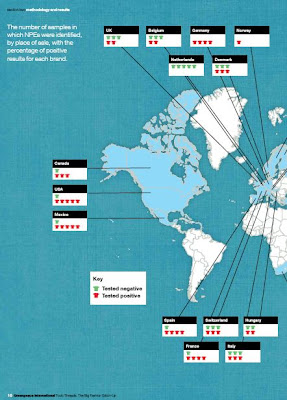 Greenpeace´s Detox campaign mapa 1