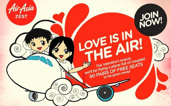 AirAsia Philippines: Love is in the air Promo, Philippine promo, Philippine promotion, AirAsia promo