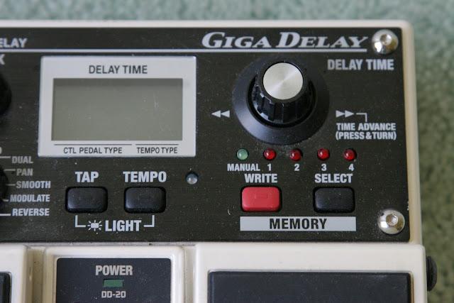boss dd 20 giga delay manual