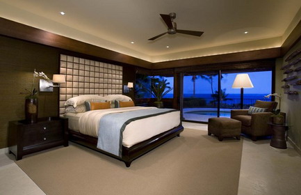 Foundation dezin decor classy modern master bedroom for Bedroom balcony design ideas