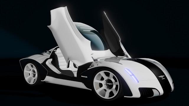 Paulin VR Car Concept
