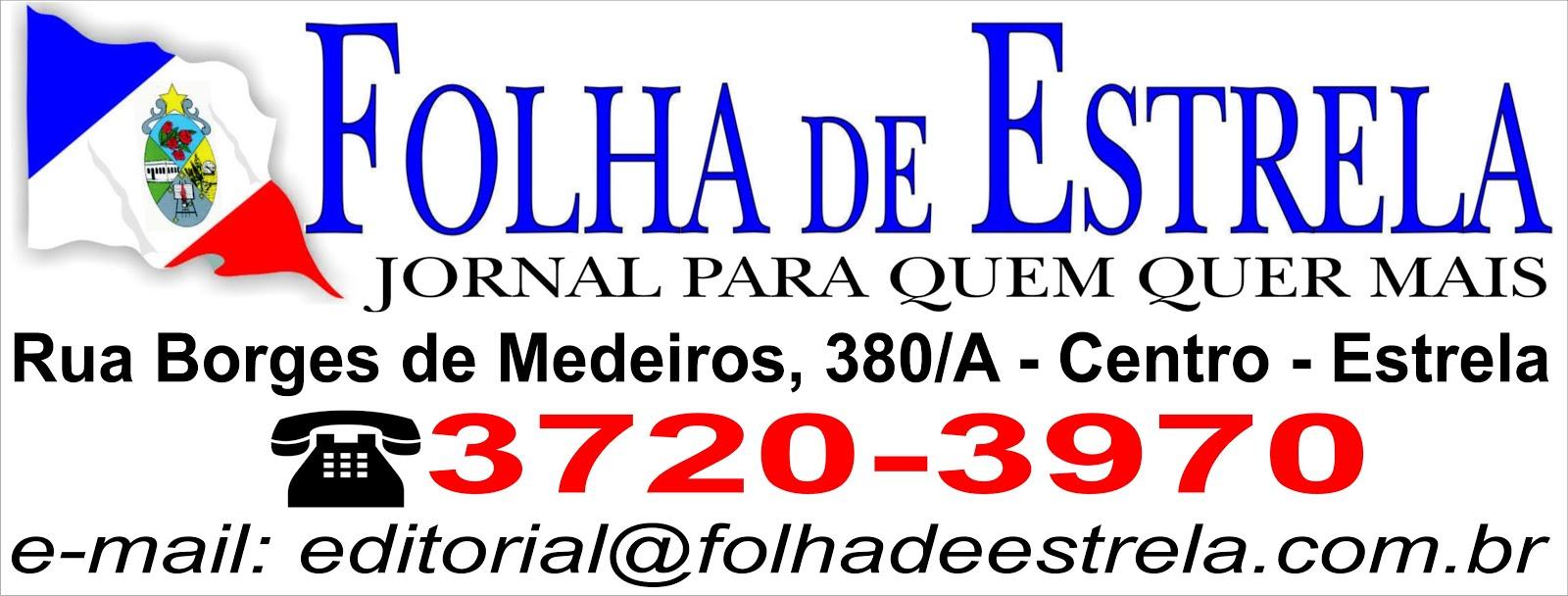JORNAL FOLHA DE ESTRELA - 3720-2970