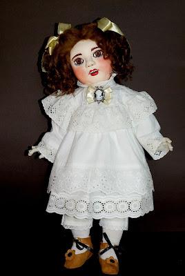 ADdoll_Annet_3 Аннет авторская текстильная шарнирная кукла Алёны Дороховой