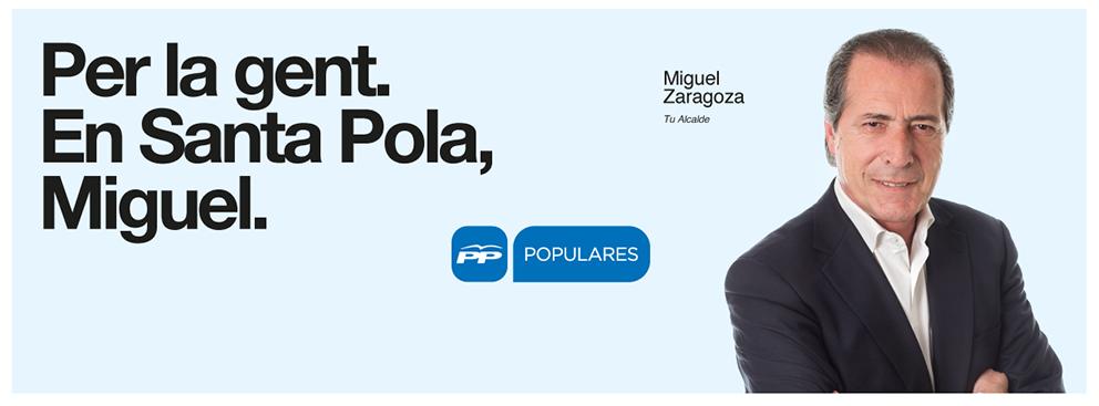 Miguel Zaragoza, tu alcalde