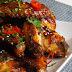 Kepti vištienos sparneliai su medaus ir naminiu 'Teriyaki' padažu / Honey Teriyaki Baked Wings