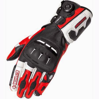 Michael Dunlop wears held motorcycle gloves