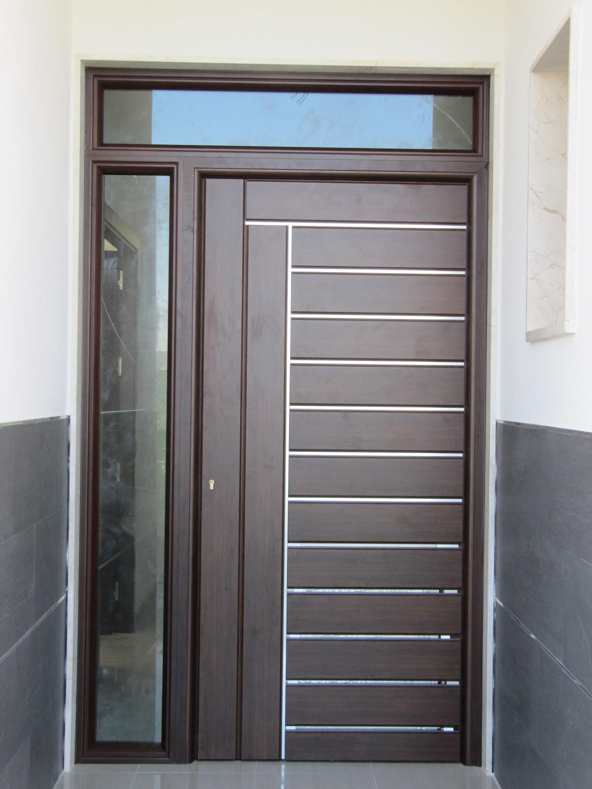 Carpinteria de aluminio y cristaleria garcia puertas de - Puertas de aluminio para entrada principal ...