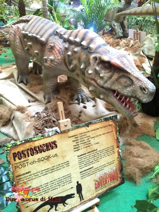 review dinosaurus adventure gandaria city
