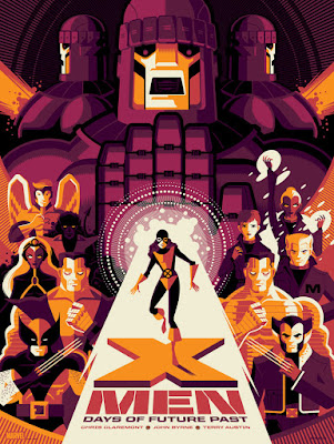X-Men: Days of Future Past Variant Screen Print by Tom Whalen