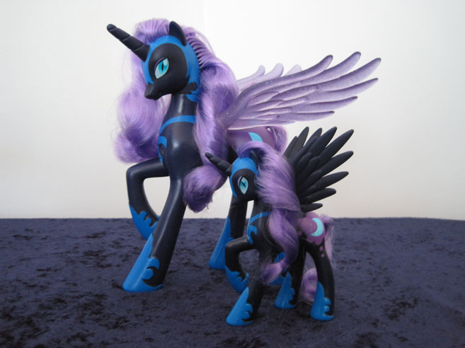 MLP: FiM Talking Nightmare Moon and Favorites Collection Nightmare Moon.