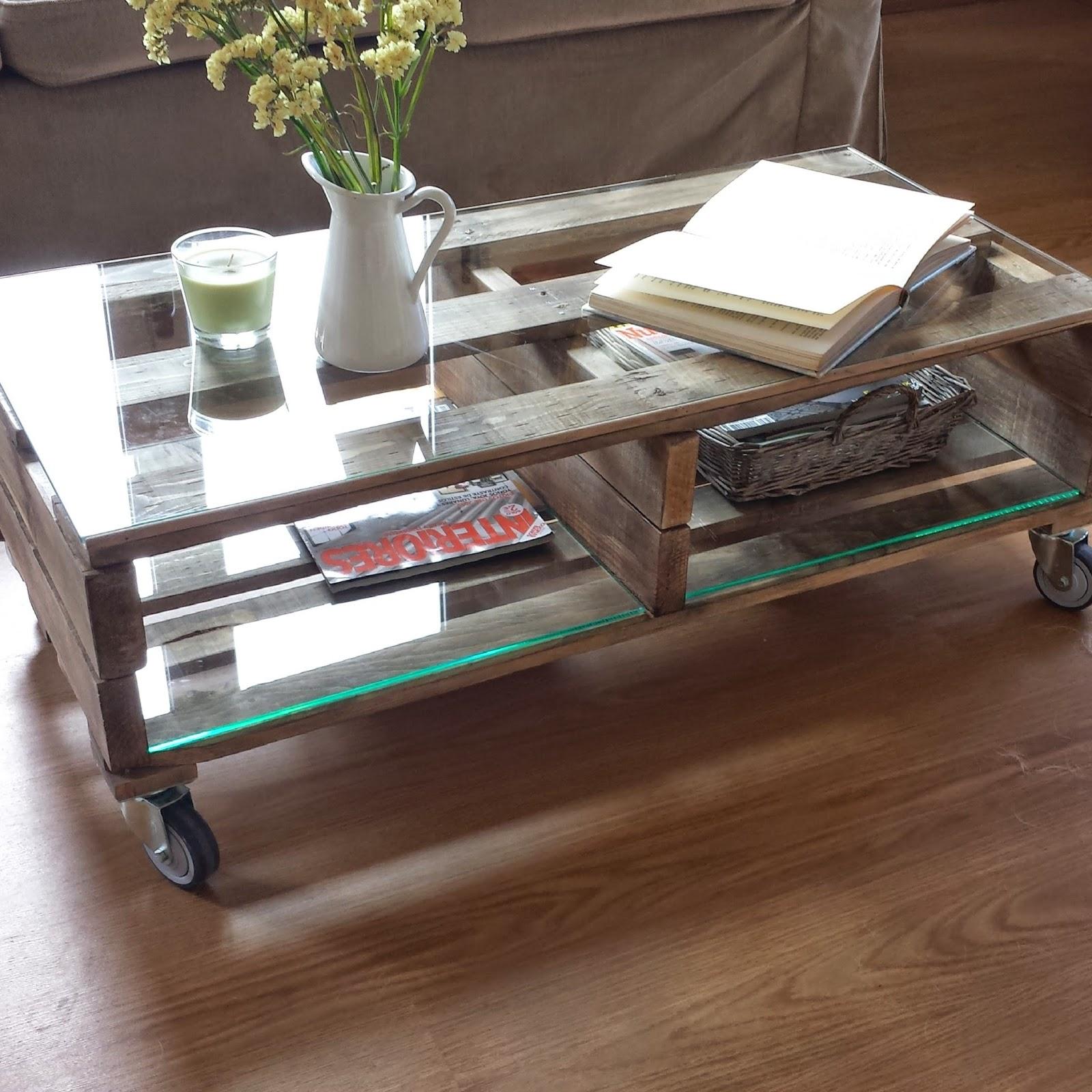 Mibarquitodepalet mesa con palets y un poco de inspiraci n - Mesa de palets bricolaje ...