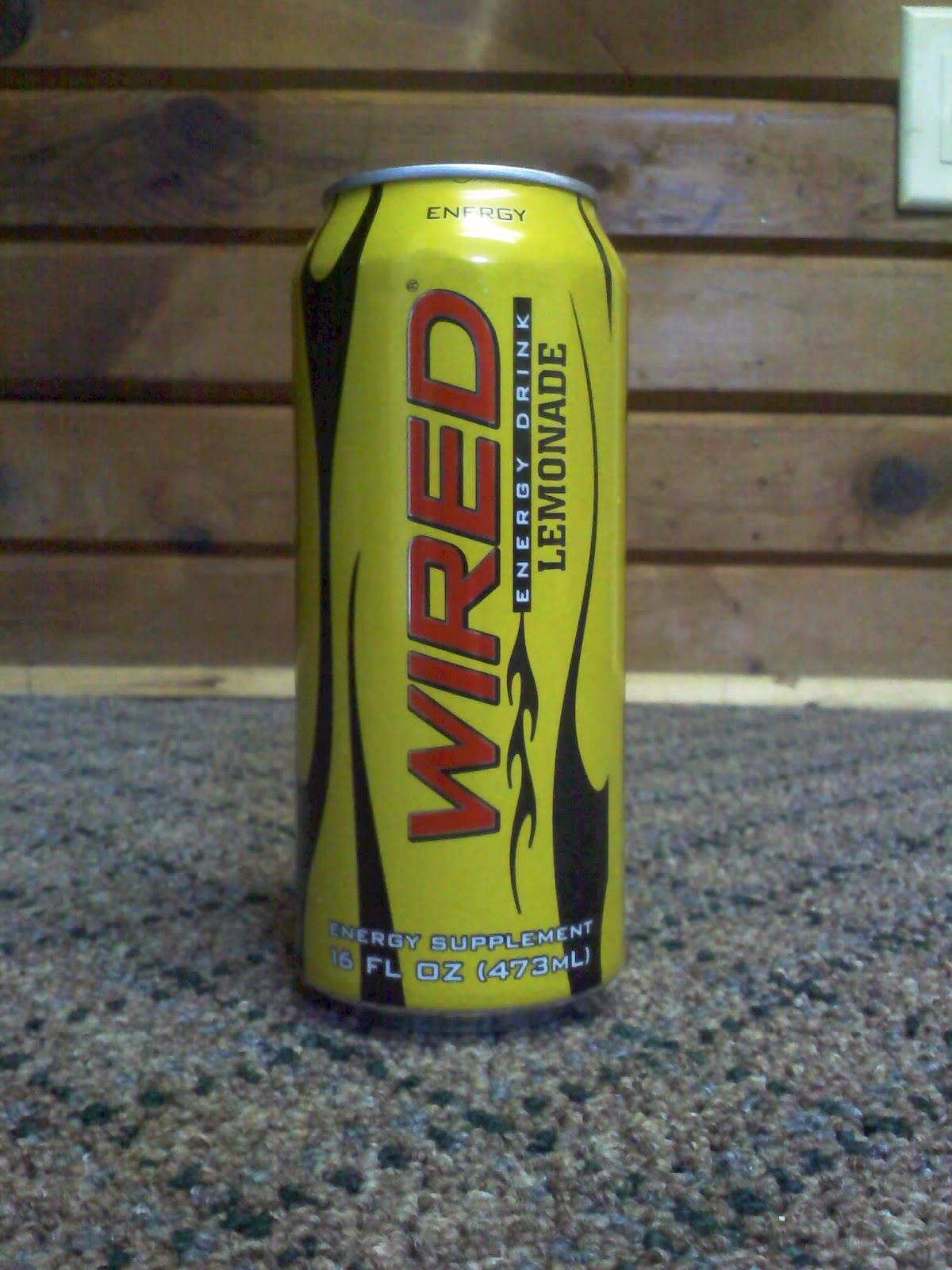 CAFFEINE!: Review for Wired X Lemonade