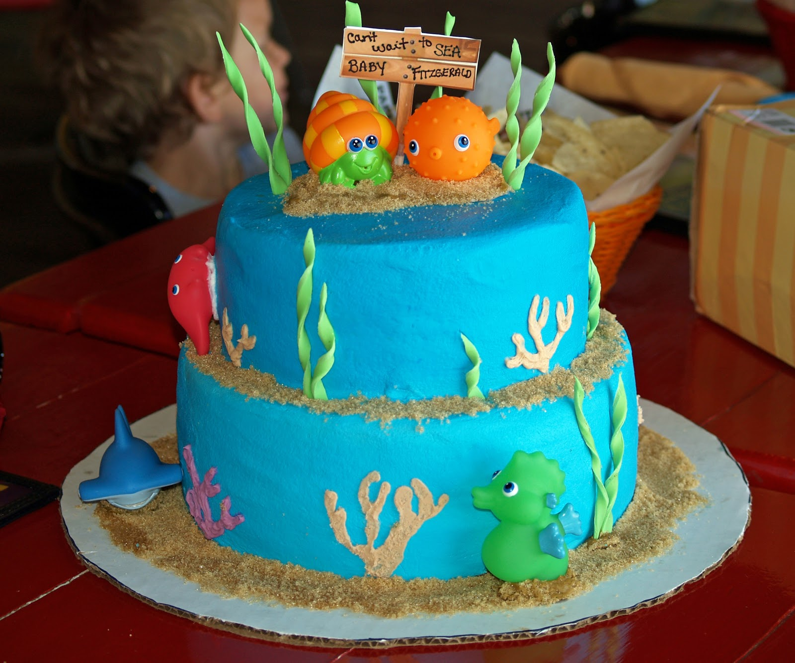 Cakes by Rose Under the Sea Baby Shower