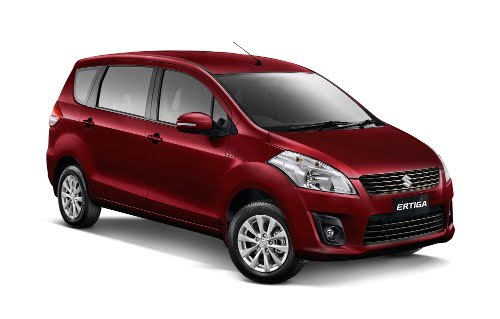 Warna Suzuki Ertiga Radiant Red