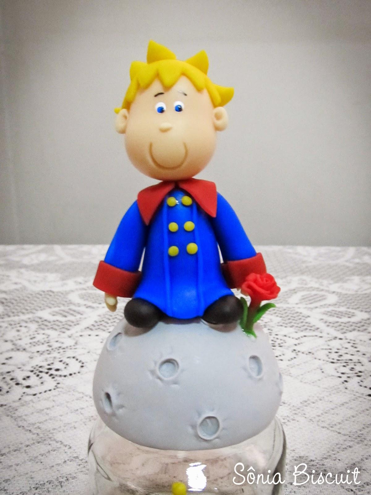 Pequeno Príncipe Biscuit Lembrancinha Potinho