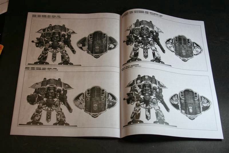Manual de montaje del Caballero Imperial 3