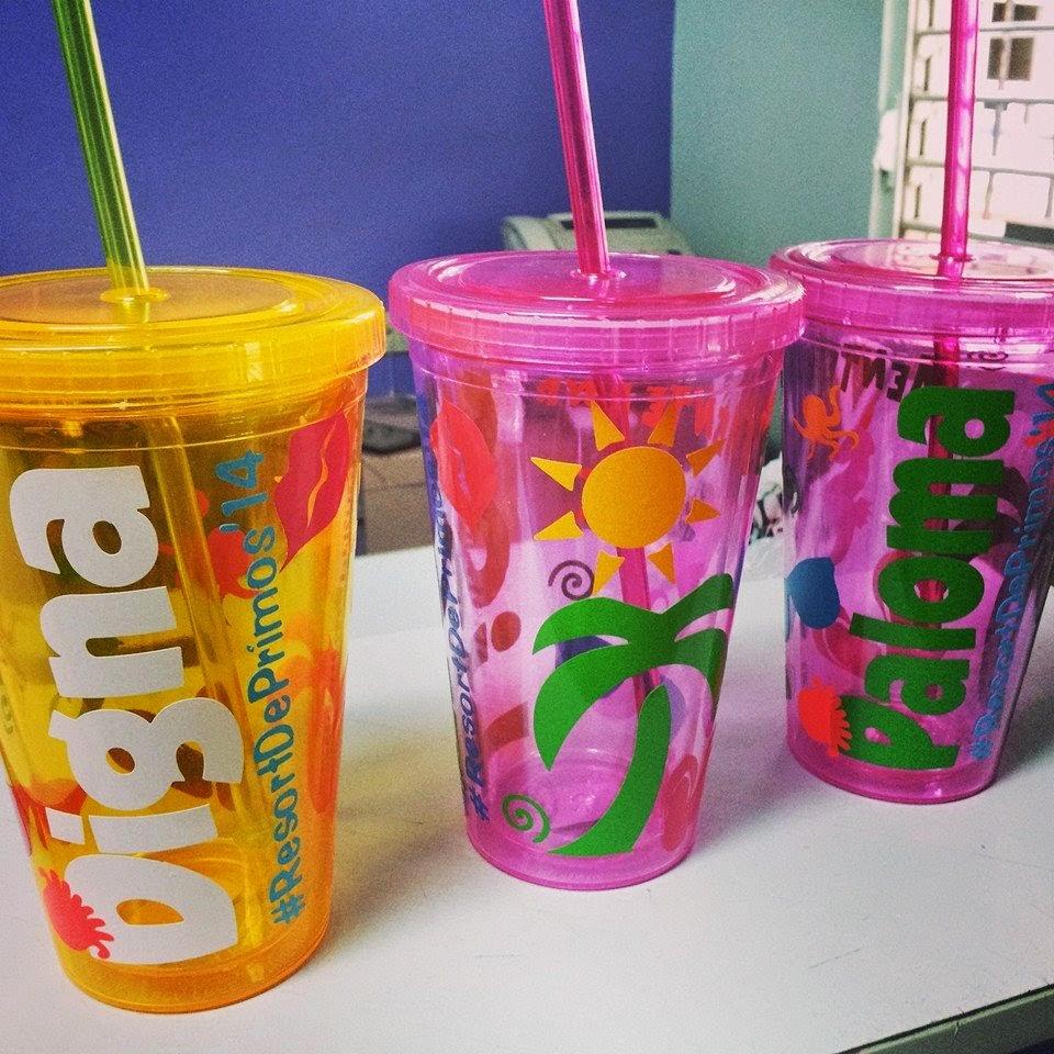 Taveras graphics vasos acr licos personalizados - Vasos personalizados ...