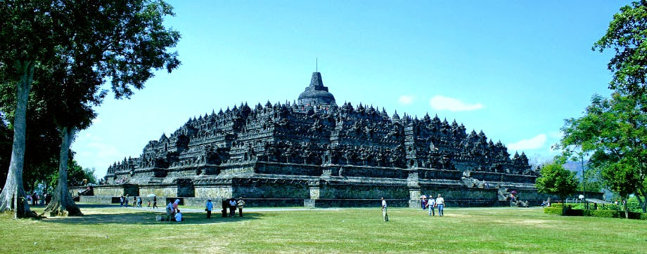 wisata indonesia candi borobudur