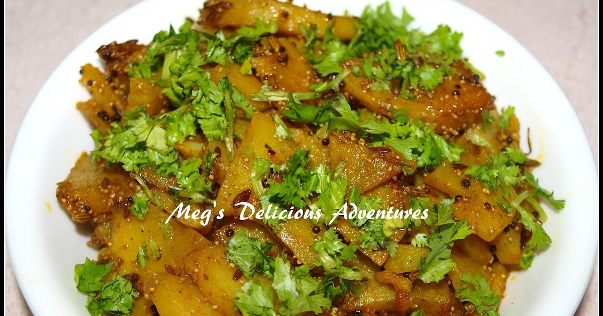 ... Adventures: Aloo sabzi (Potato stir fry with poppy and fennel seeds