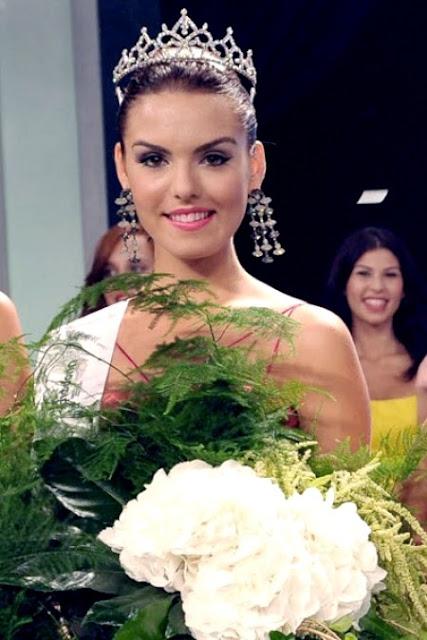 Miss World Cypus 2013 winner Kristi Mari Agapiou