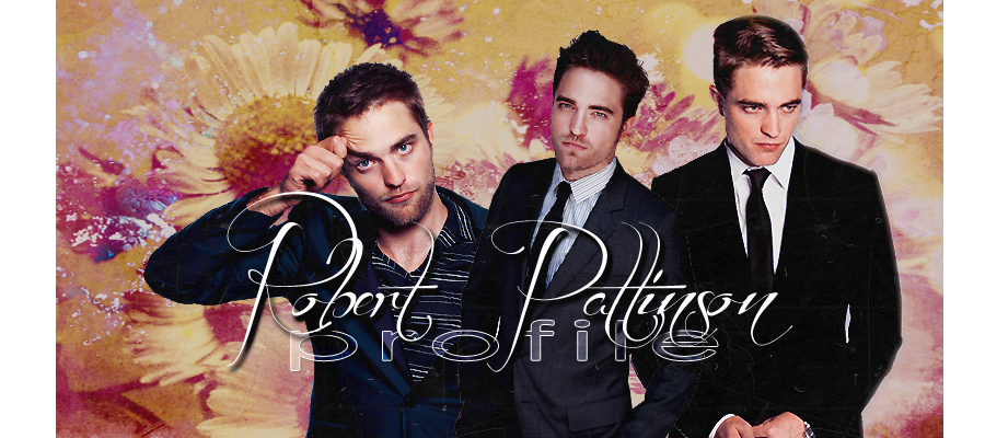 Robert Pattinson Profile