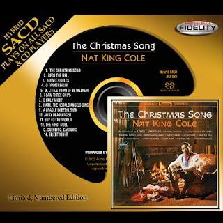 "Michael Doherty's Music Log: Nat King Cole: ""The Christmas Song"" (2015) Hybrid SACD Review"