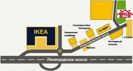 Проезд на личном транспорте m5home