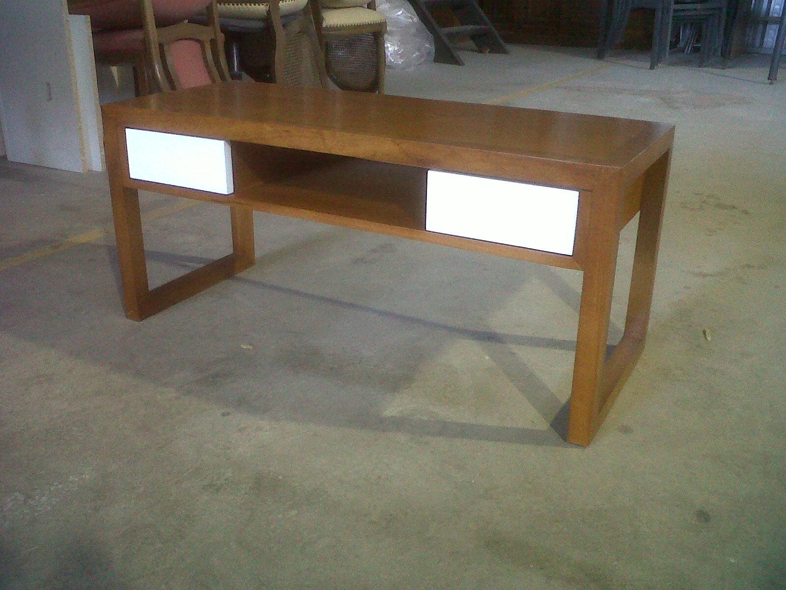 Rack y mesa de centro muebles sanchez for Muebles sanchez