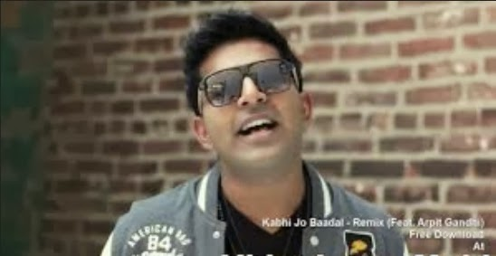 Kabhi Jo Baadal Barse - Remix (Feat. Arpit Gandhi) Video Song