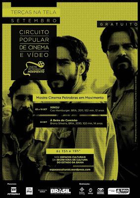 Mostra Cinema Petrobras em Movimento - Vitrine da Costa