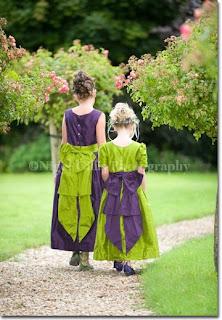 29 March - Challenge 93 - Julie -Deep Purple, Bright Green and cream