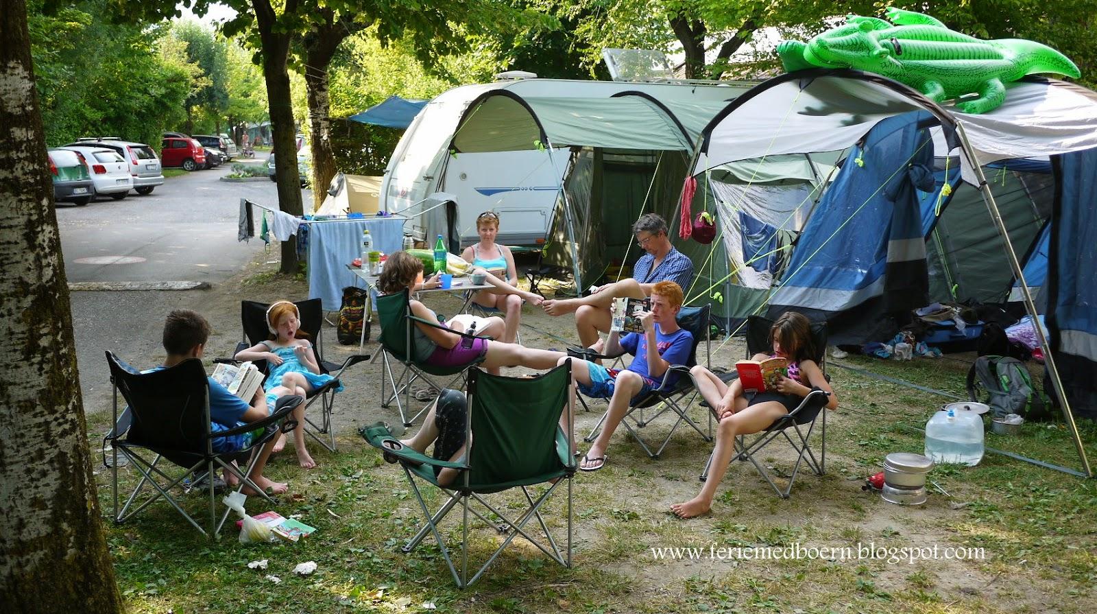 camping tjekkiet med børn