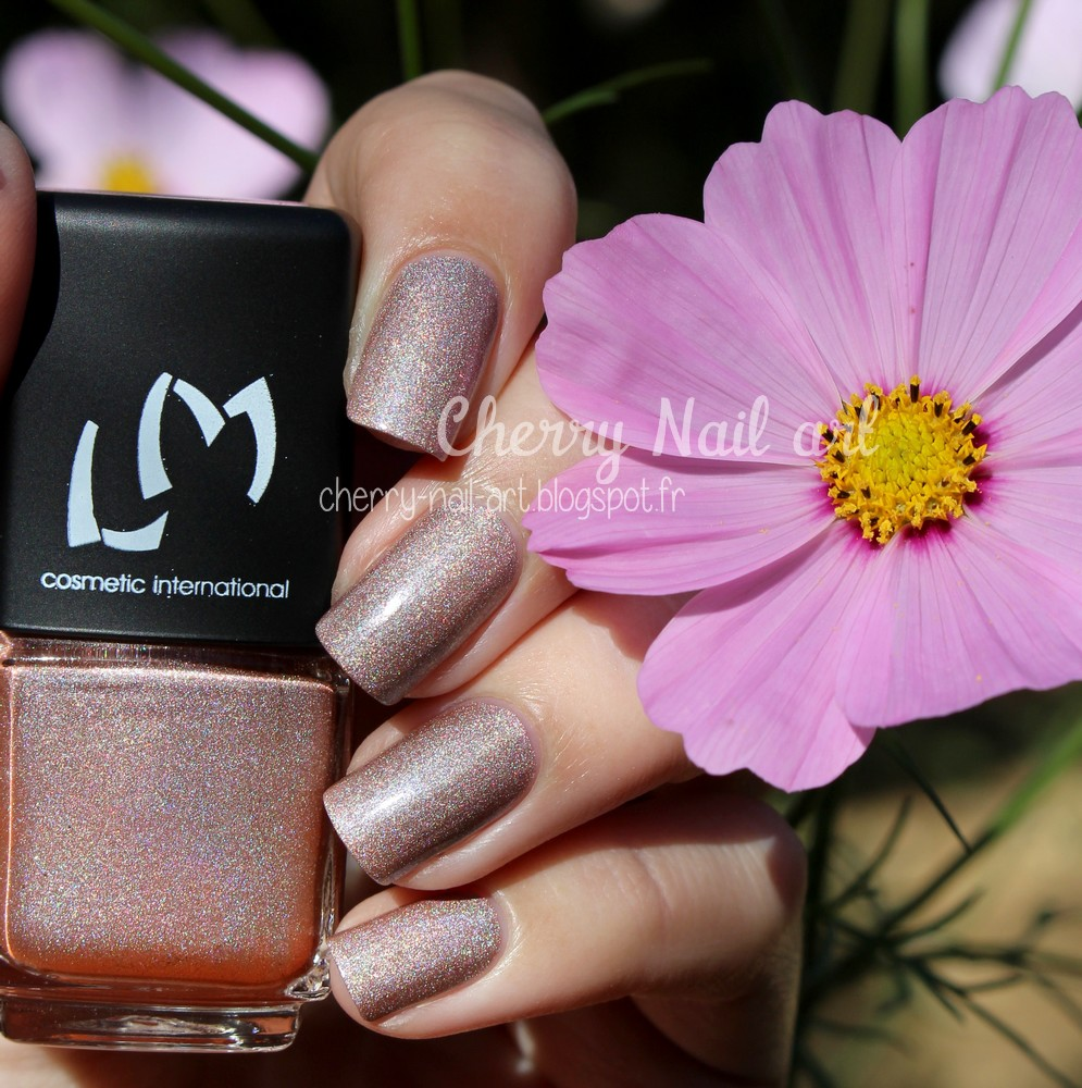 vernis lm cosmetic n°8 Thuban collection Space world