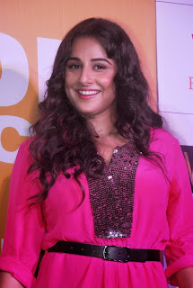 Actress Vidya Balan Pictures in Pink Short Dress at Shaadi Ke Side Movie Trailer Launch 0002.jpg
