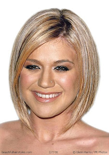 Kelly Clarkson Short Bob