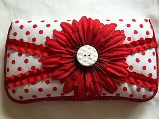 Red Polka Dot Flower
