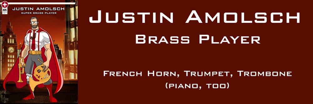 Justin Amolsch, Brass Superhero