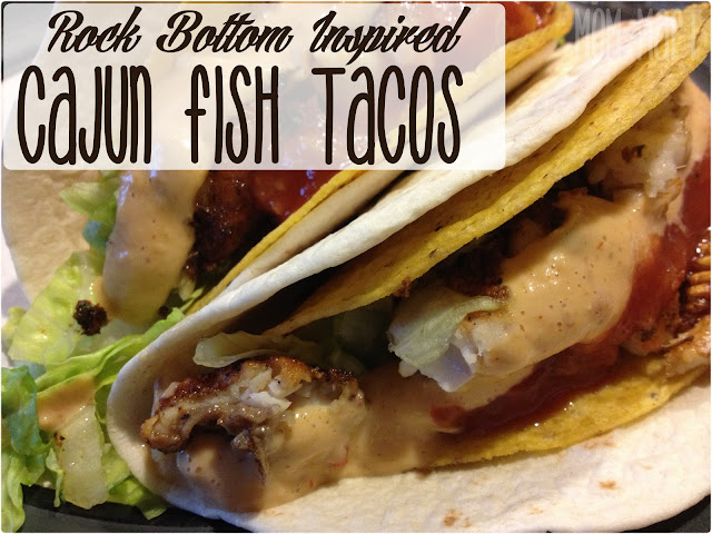 Rock Bottom Inspired Cajun Fish Taco Recipe