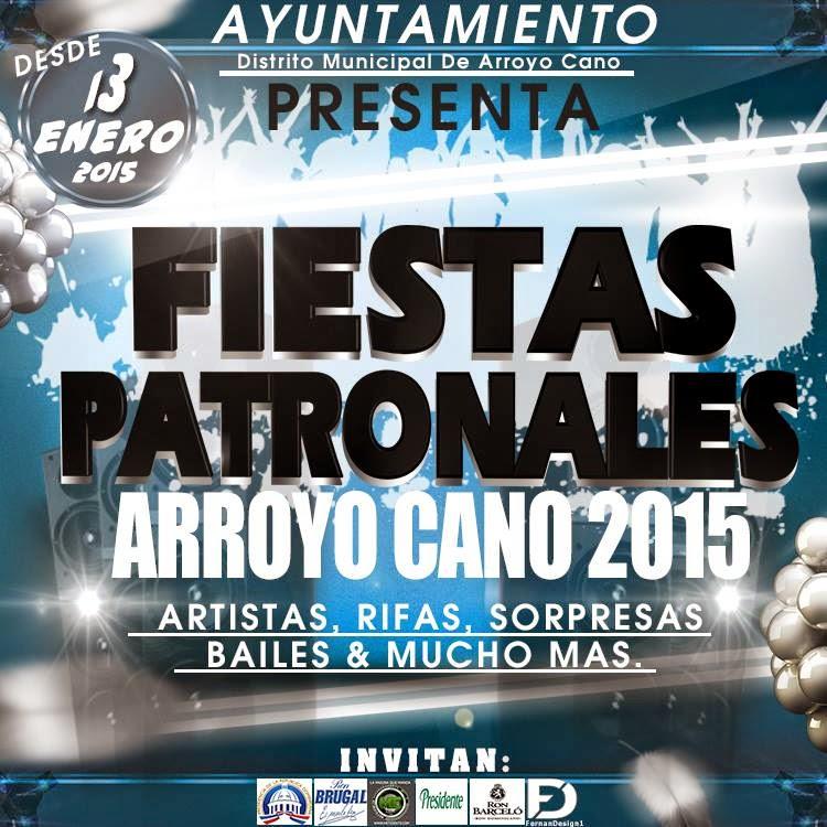 DESDE EL 13 HASTA EL 21 ENERO FIESTAS PATRONALES ARROYO CANO 2015